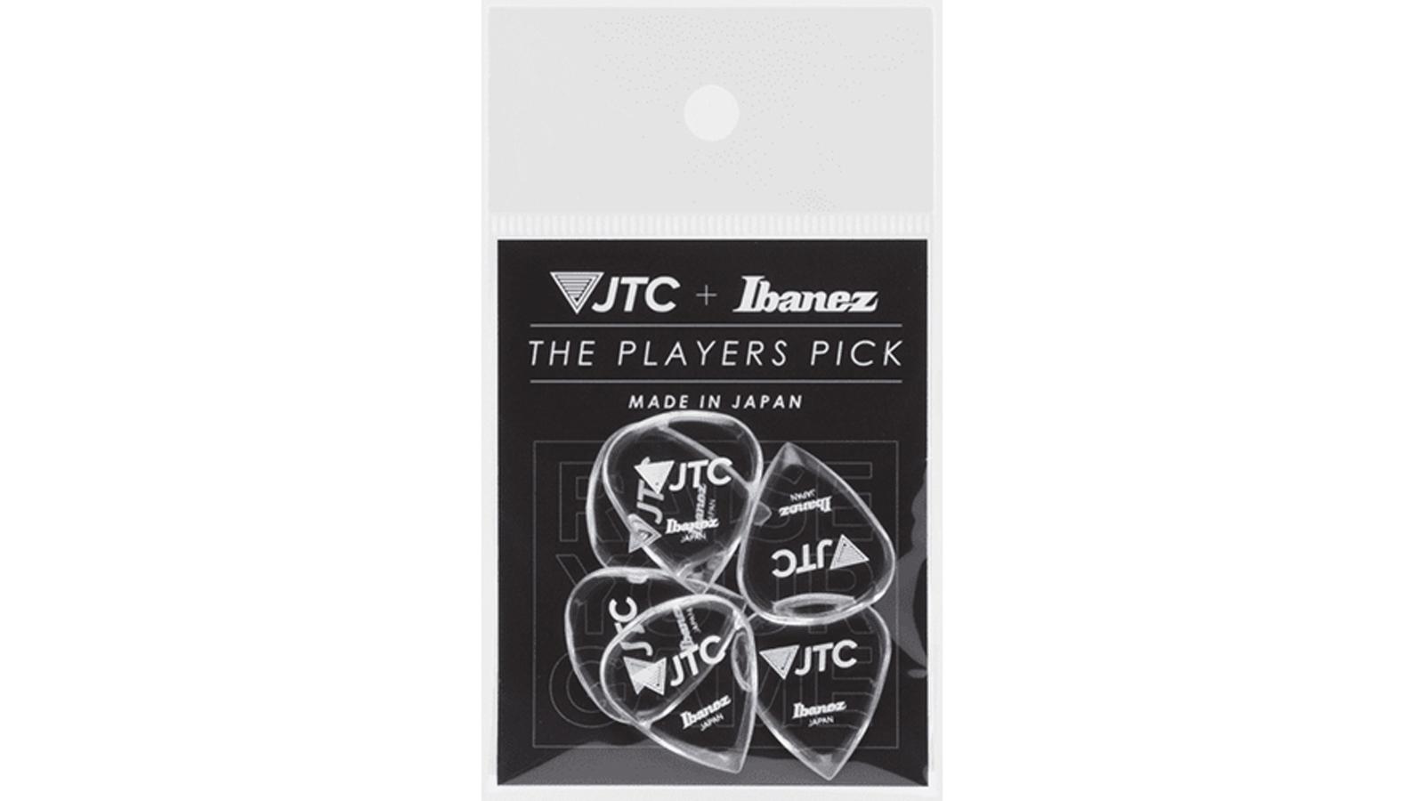 Ibanez JTC FLAT PICK JAM TRACK 6er Pack