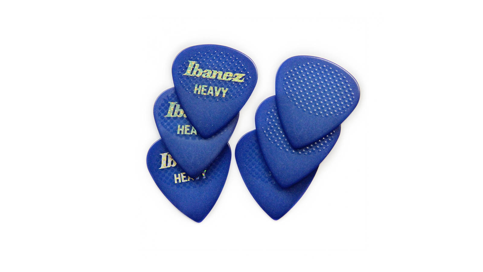 Ibanez Pick SET Rubber Grip heavy BPA16HR-BL