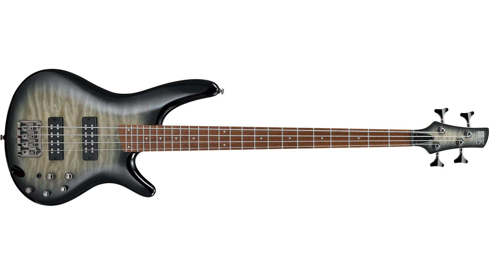 Ibanez SR400EQM-SKG Bass Surreal Black Burst Gloss