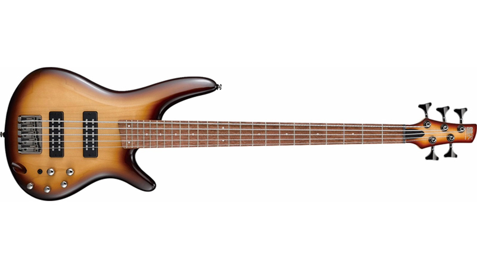 Ibanez SR375E-NNB E-BASS NATURAL BROWNED BURST 5-saiter
