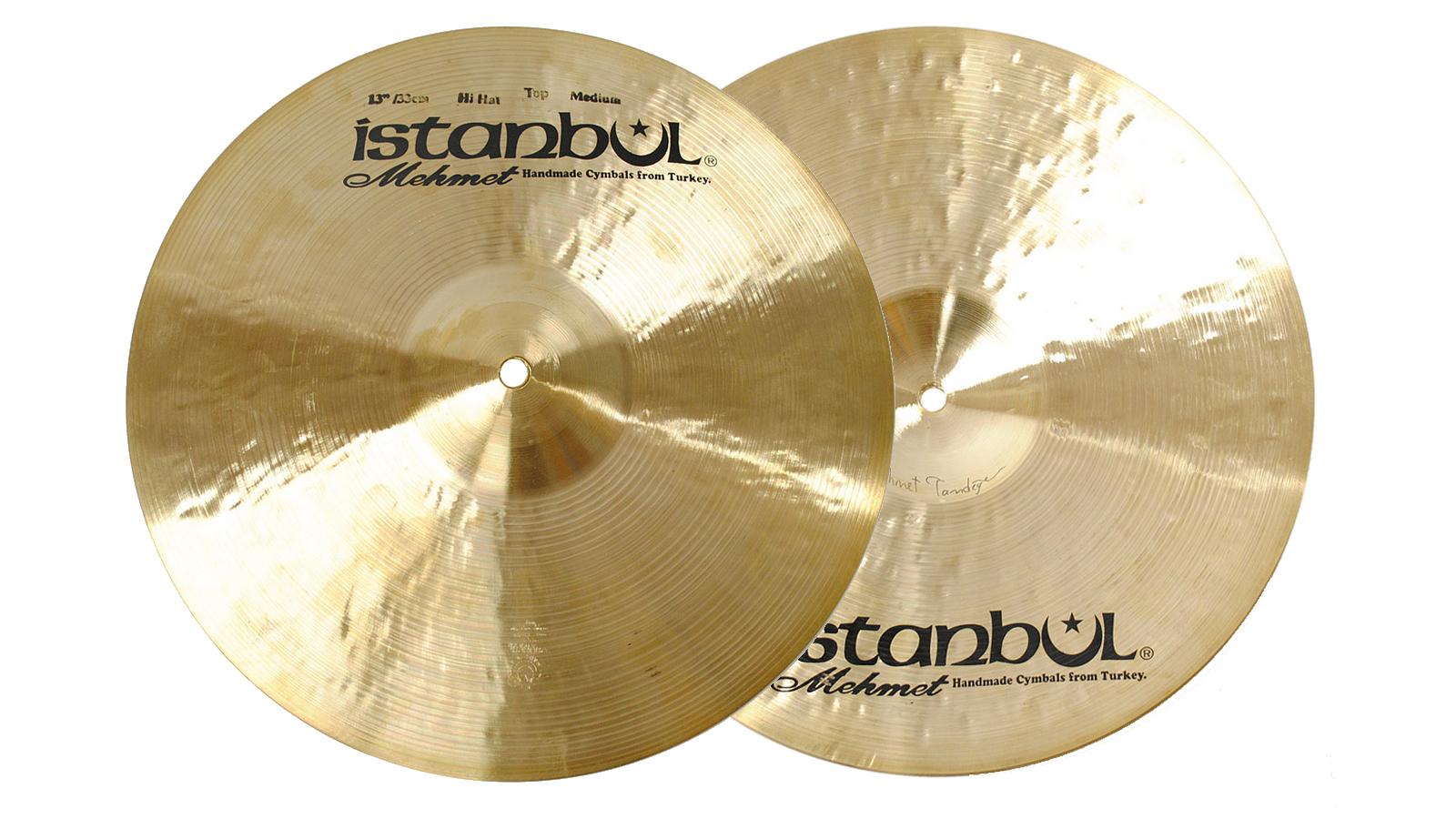 """Istanbul Mehmet Traditional Medium Hi Hat 13"""""""