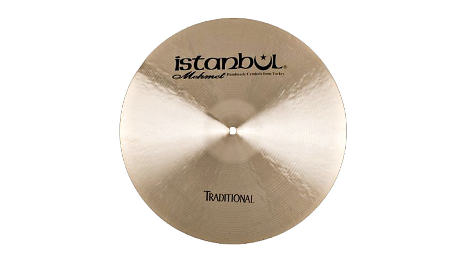 Istanbul Mehmet Traditional Medium Crash 16""