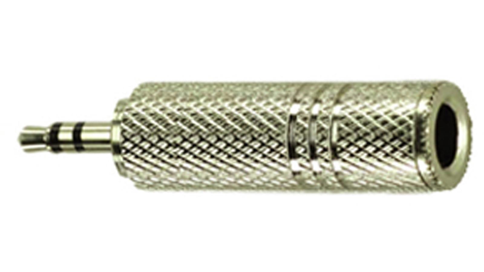 DREITEC Adapter große auf kleine Klinke Stereo 1831