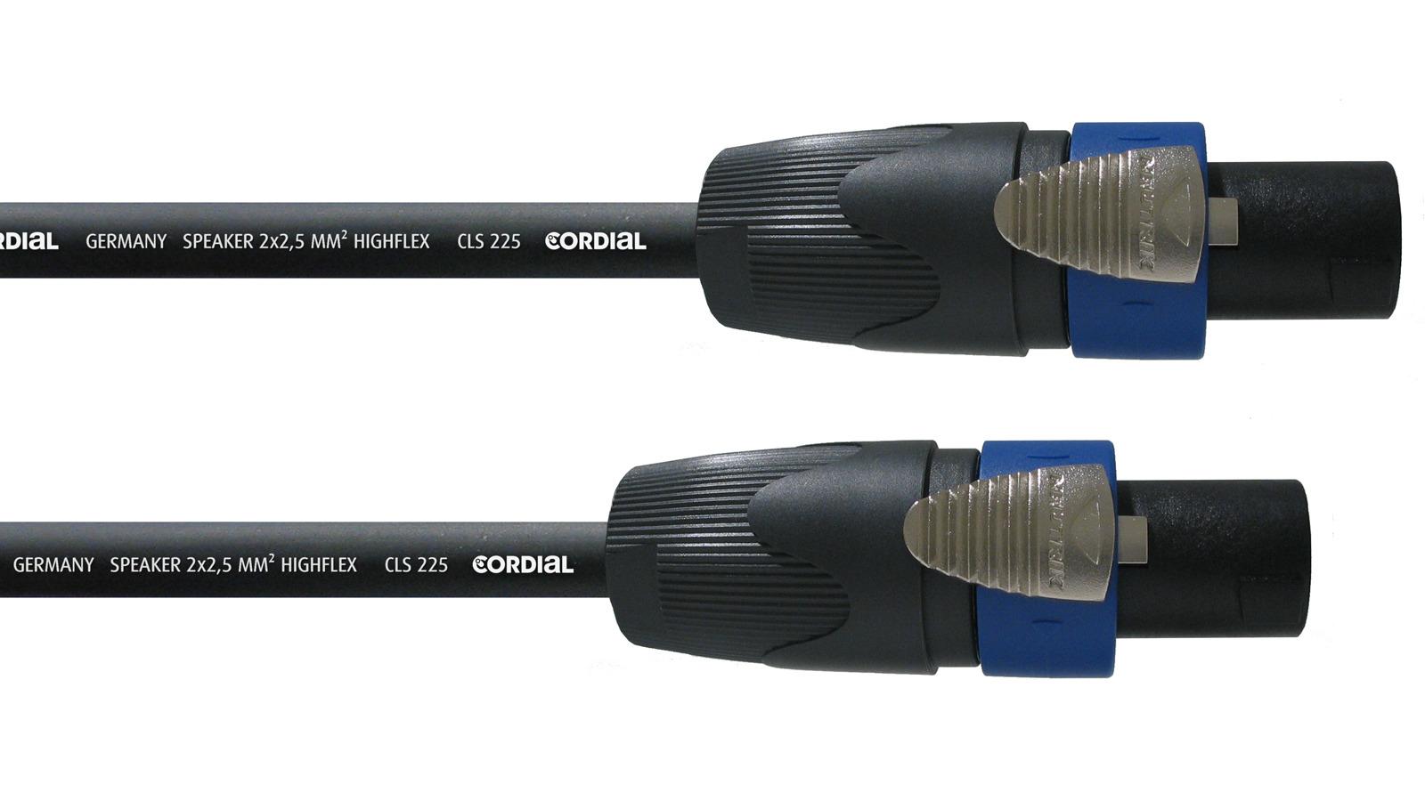 Cordial Speakerkabel 10m CPL 10 LL 2