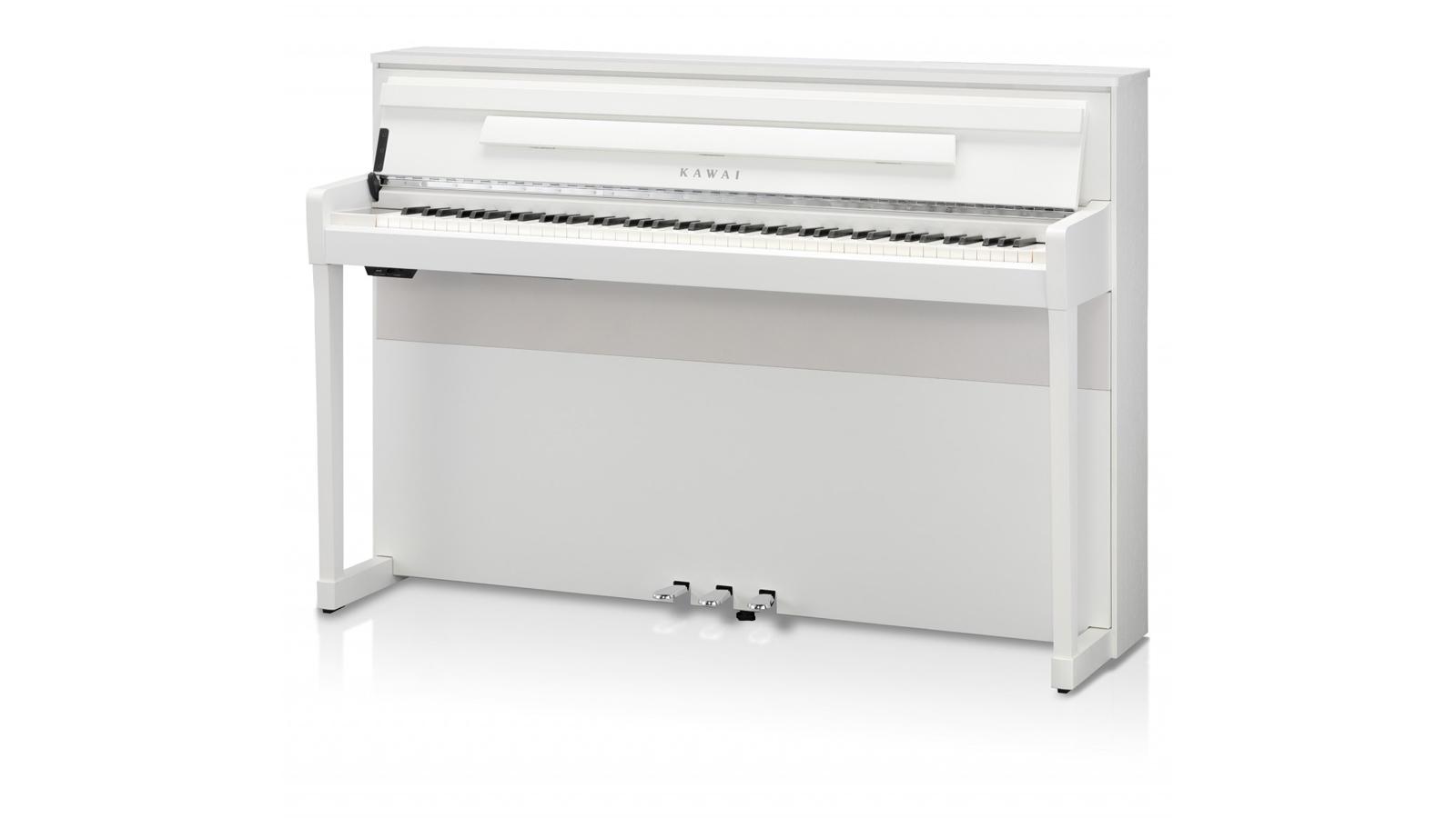 Kawai CA-99 WH Digitalpiano mit Resonanzboden inkl. Aufbau