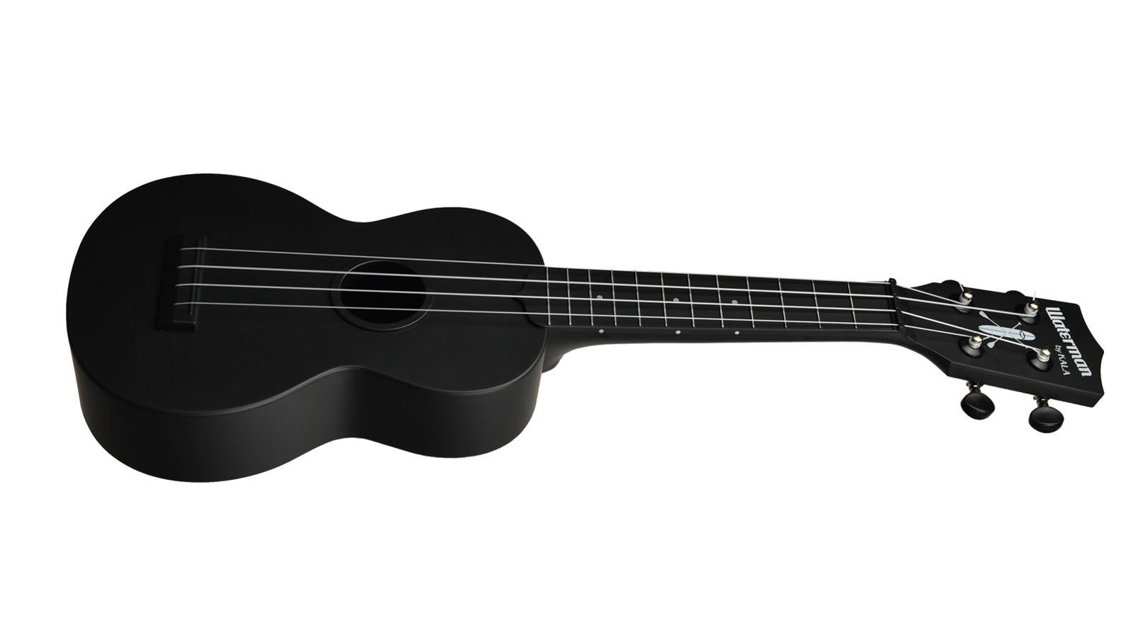 Kala Waterman Soprano black matte black