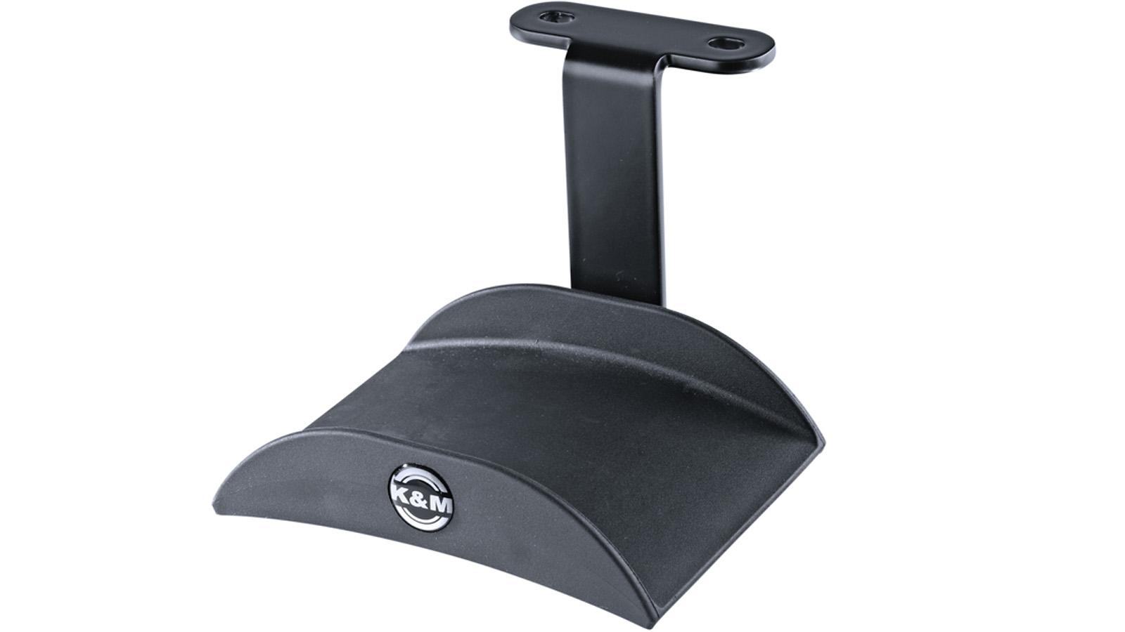 K&M Kopfhörerhalter zur Montage unter einem Tisch 16330 schwarz
