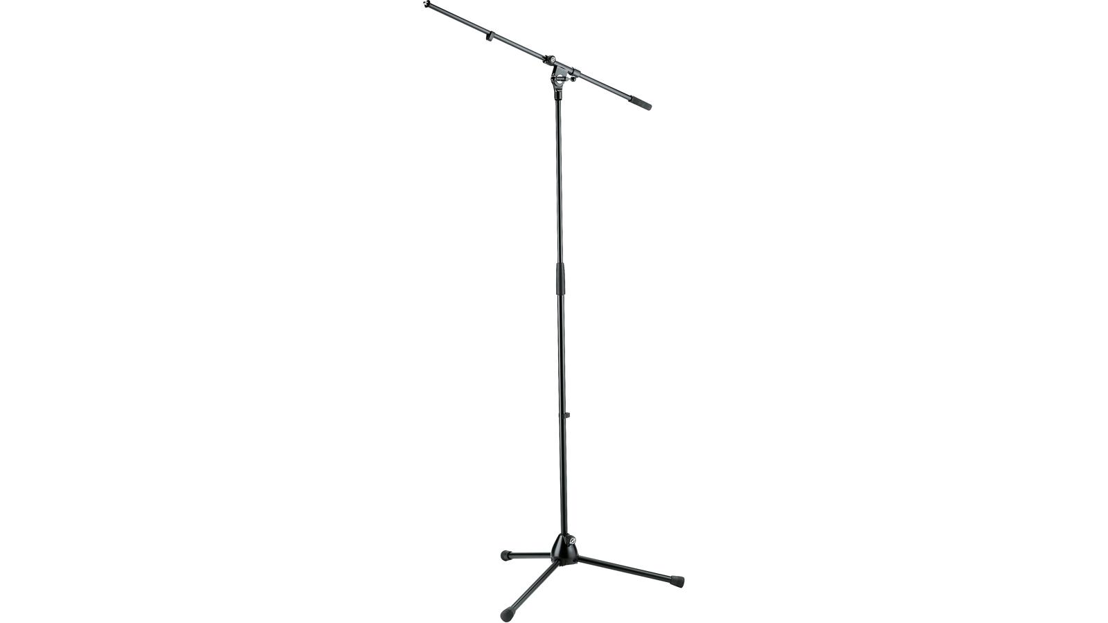 K&M 21020-300-55 Mikrofonstativ mit Schwenkarm schwarz
