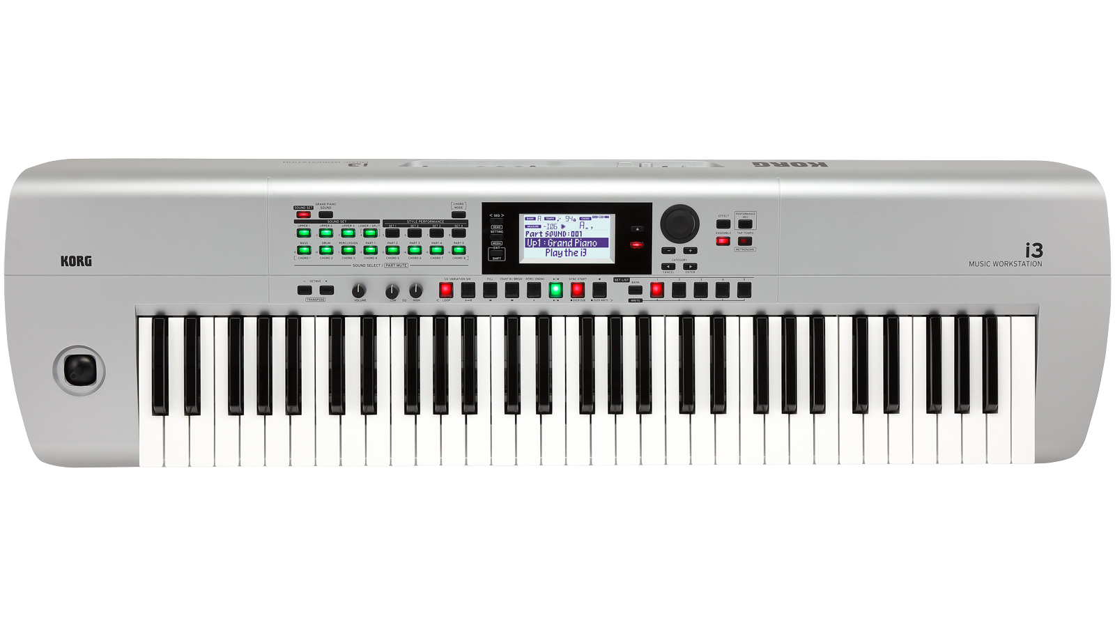 Korg Arranger i3 Workstation 61 silber