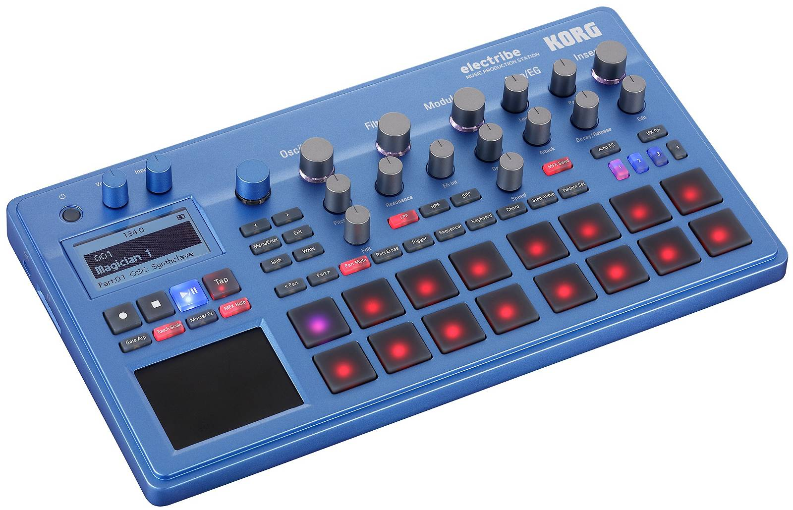 Korg Electribe 2 blue Music Production Station