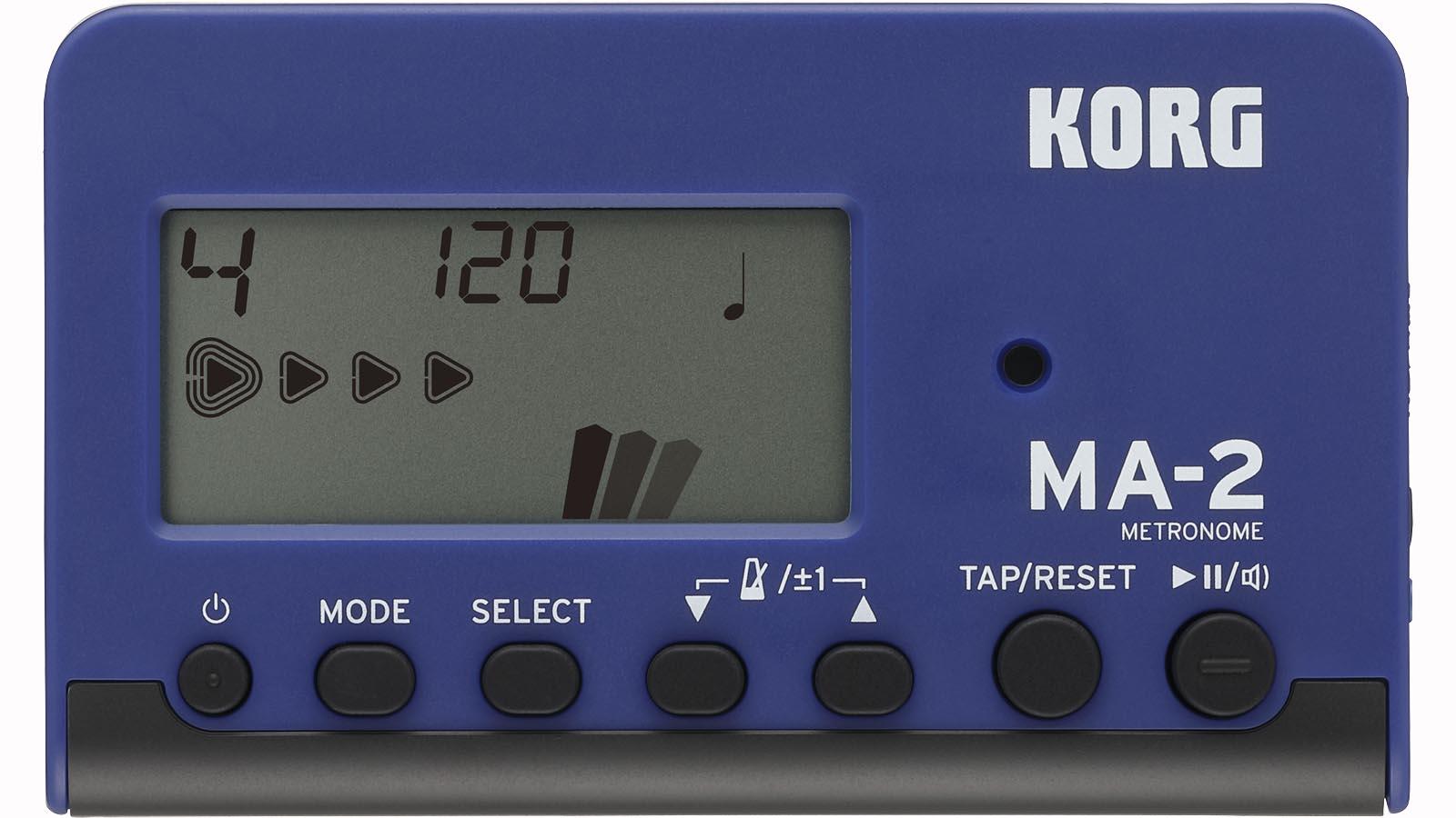 Korg Metronom MA-2 digital blau/schwarz