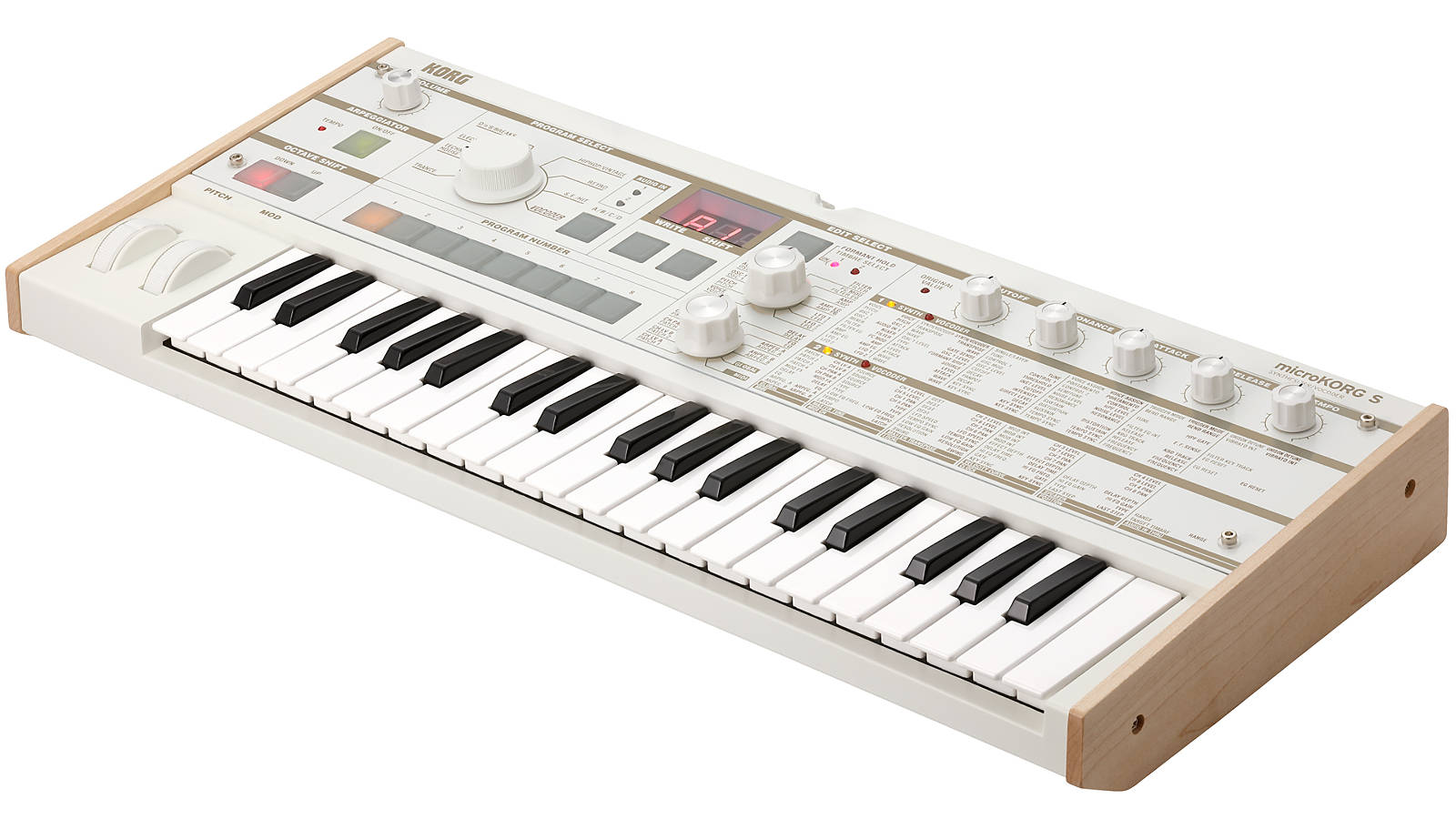 KORG microKORG S vituell-analoger Synthesizer mit Vocoder