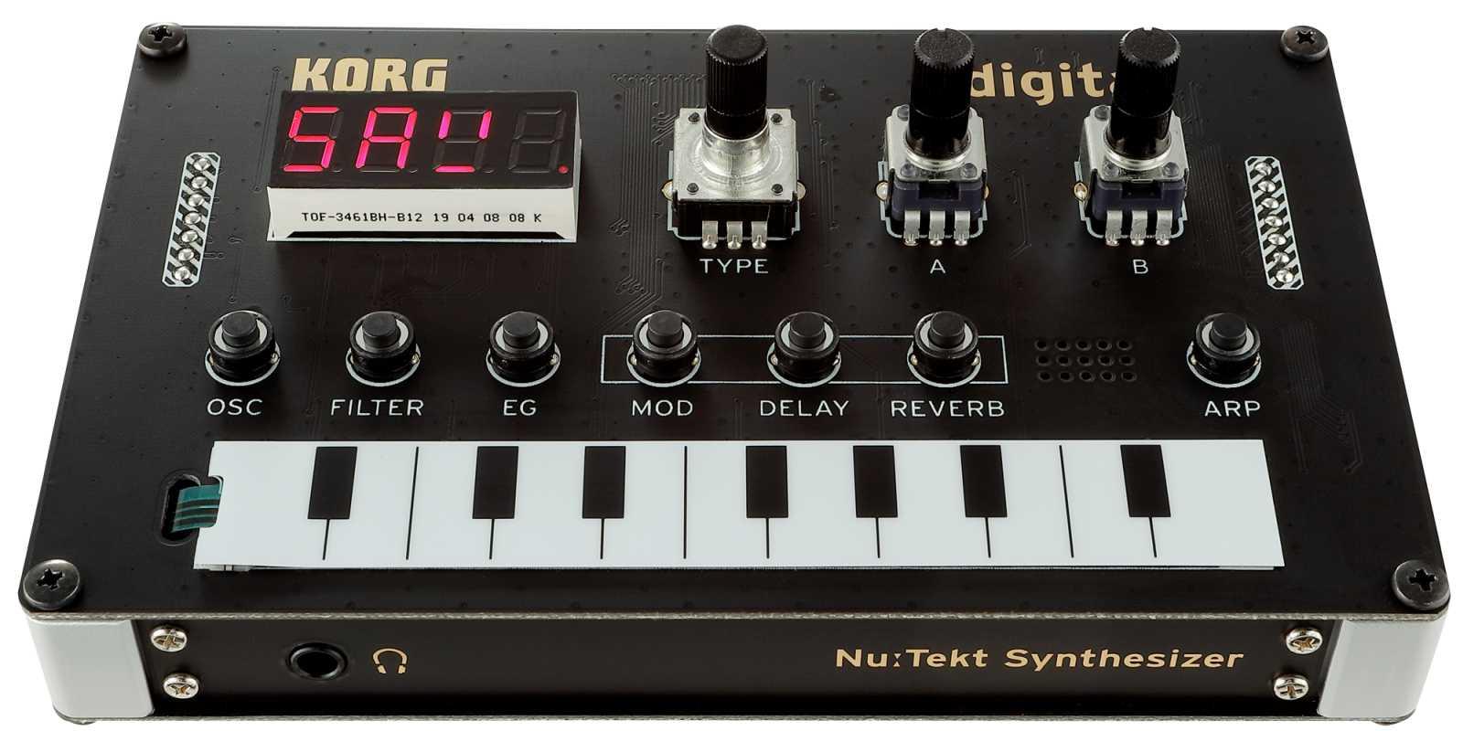 Korg NTS-1 Synthesizer Bausatz