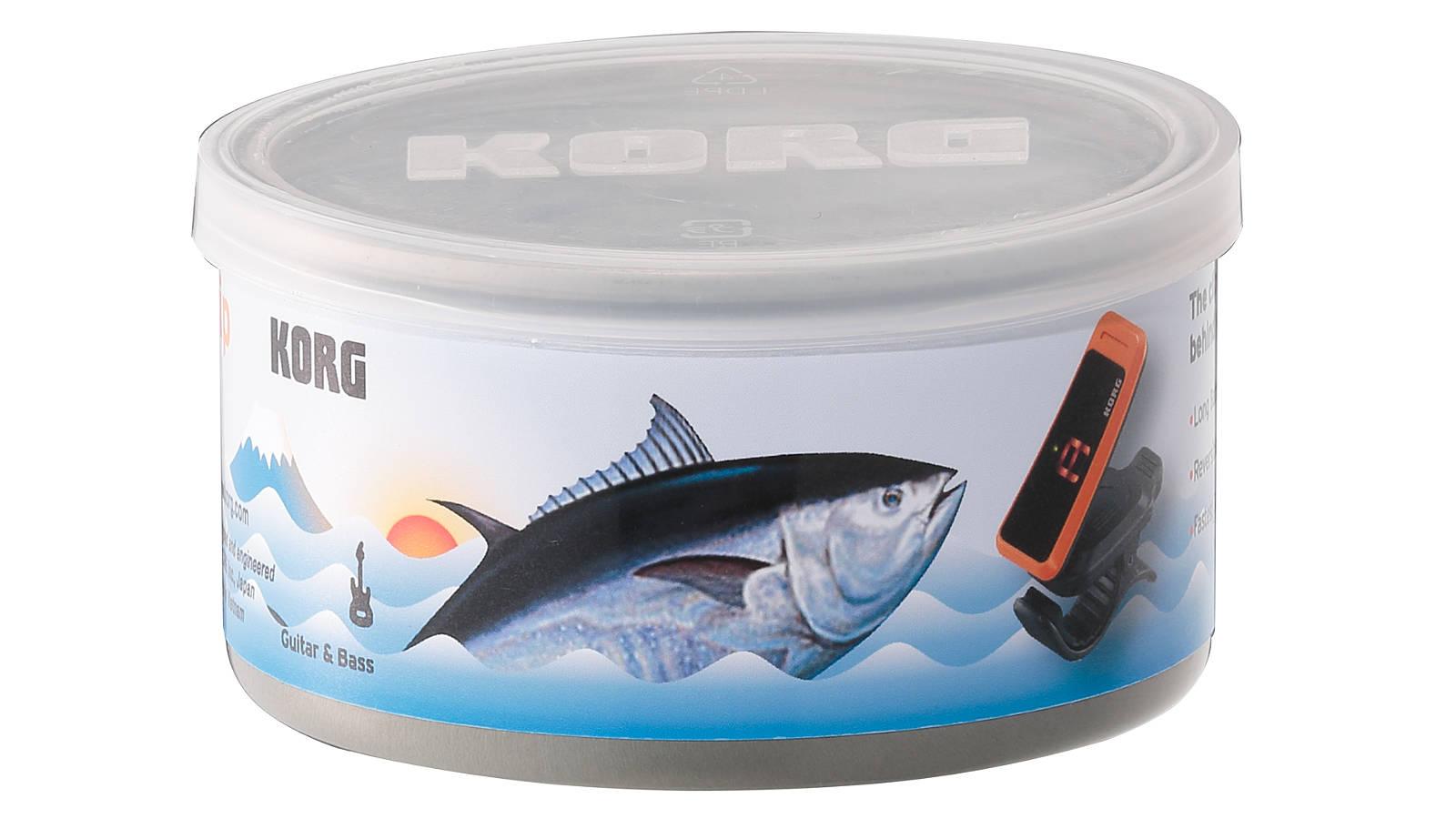 Korg PC1 Clip-On Tuner Orange in Thunfischdose