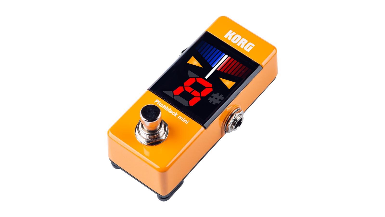 Korg PitchBlack Mini Tuner Orange