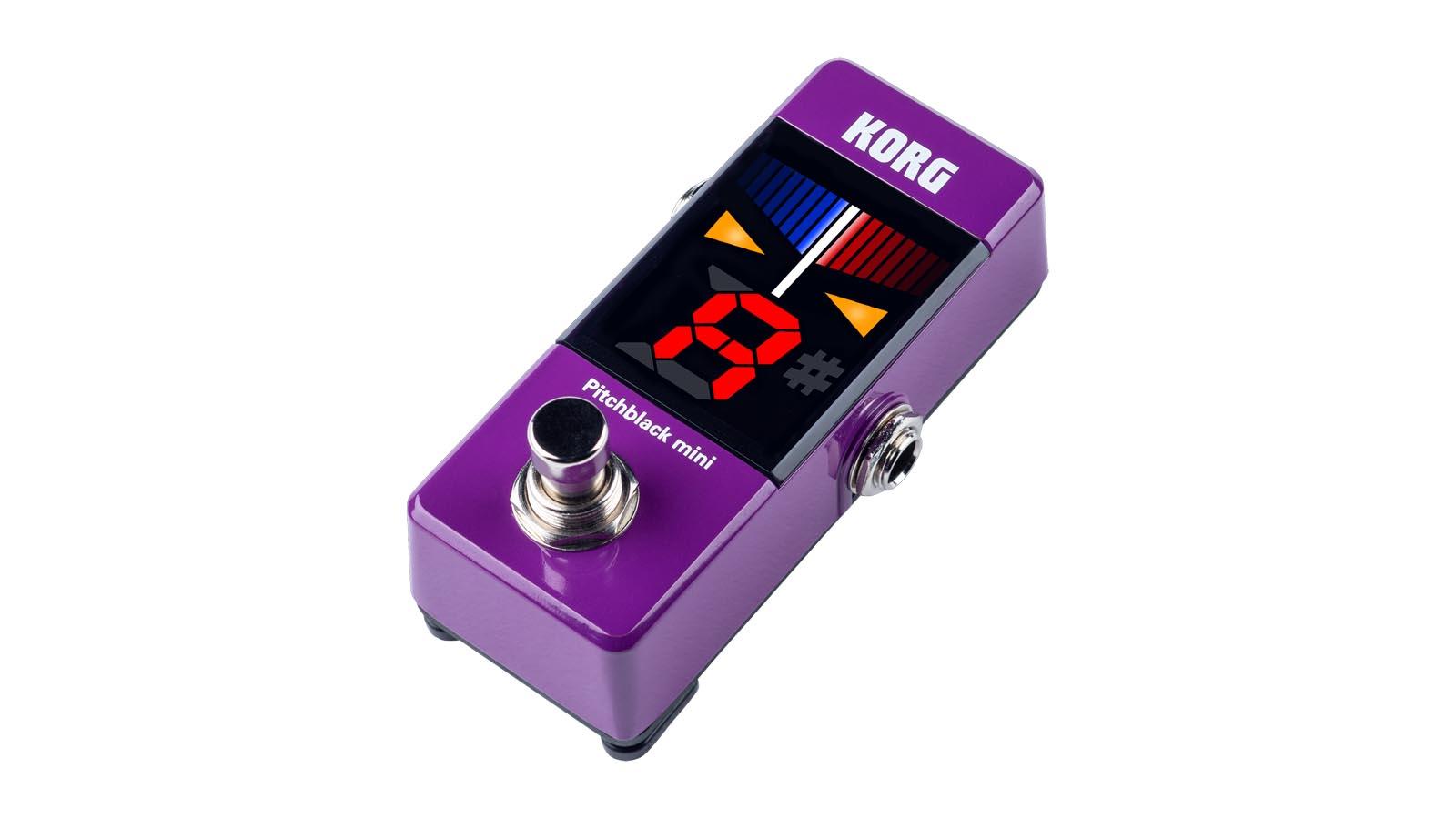Korg PitchBlack Mini Tuner Purple Limited Edition