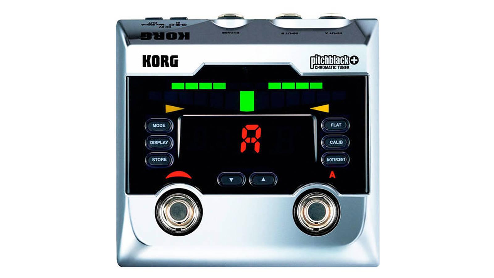 Korg pitch black plus floor tuner chrom for 13th floor pitch black