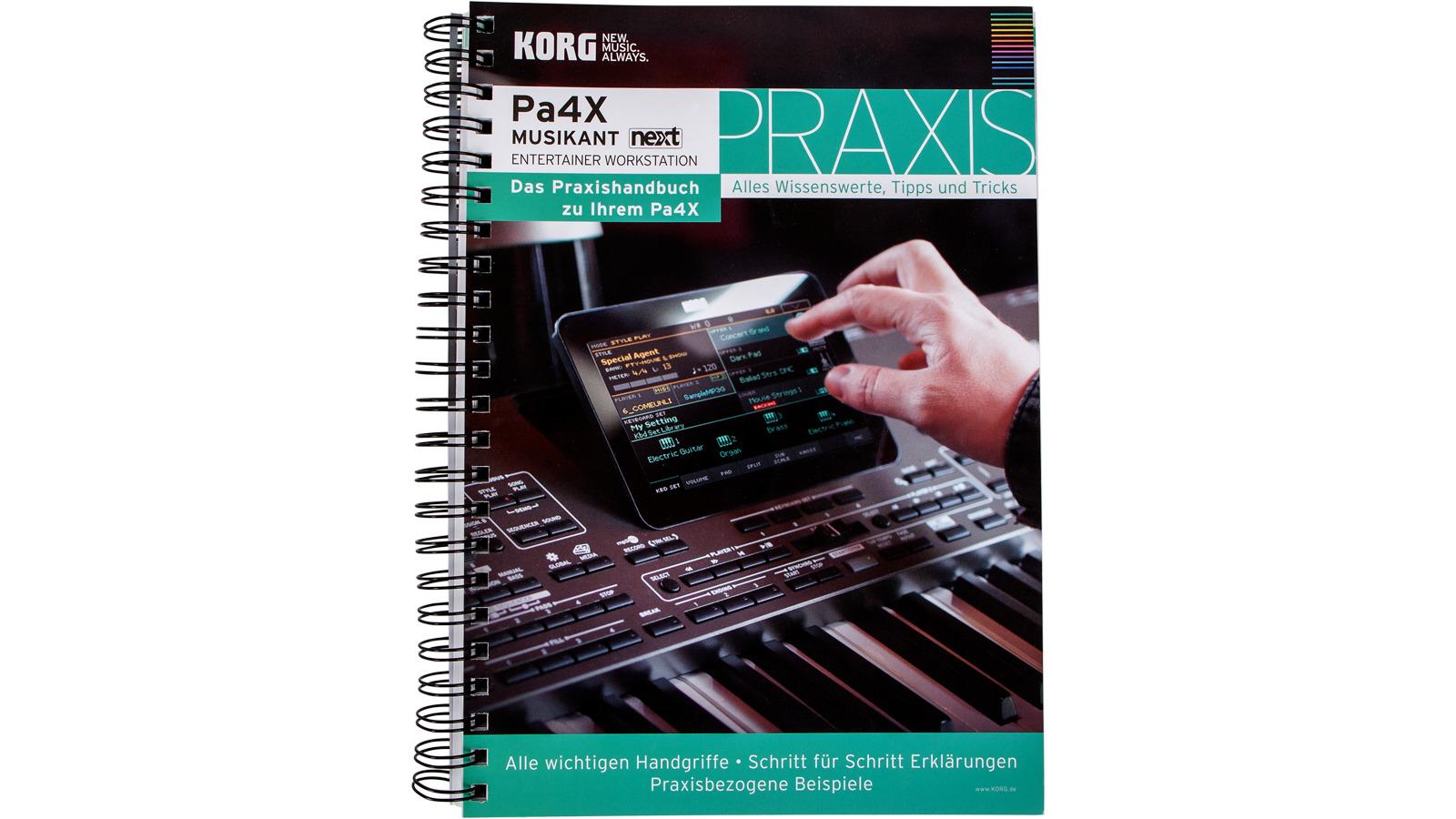 Korg Praxishandbuch Band 3 für Pa4X MUSIKANT-Serie