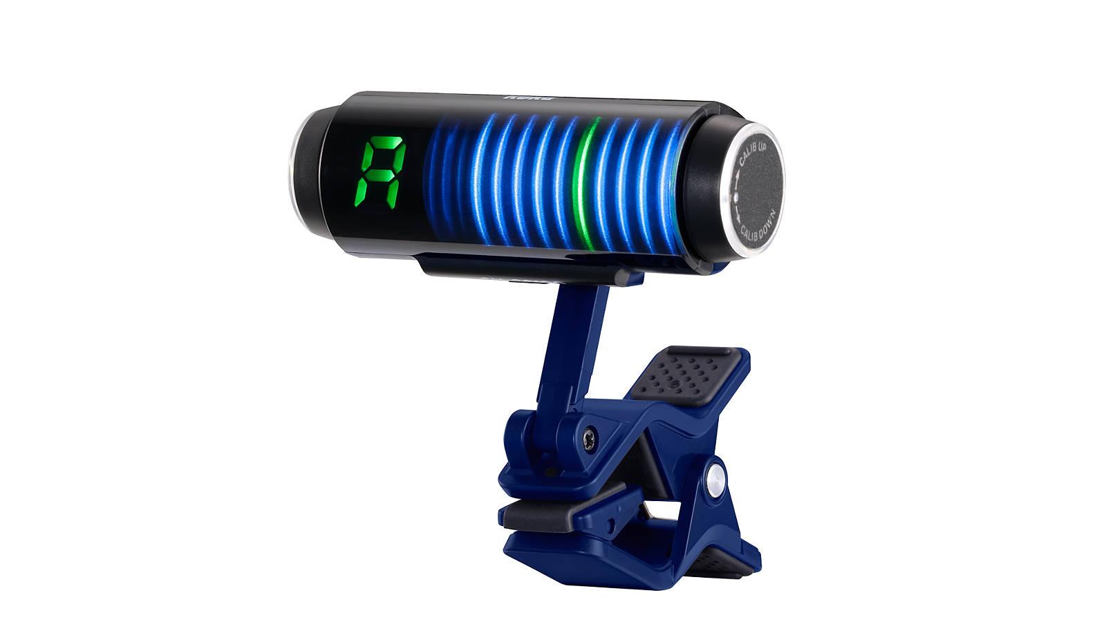 Korg SHCS100BL Sledgehammer Custom 100 Clip On Tuner Blue