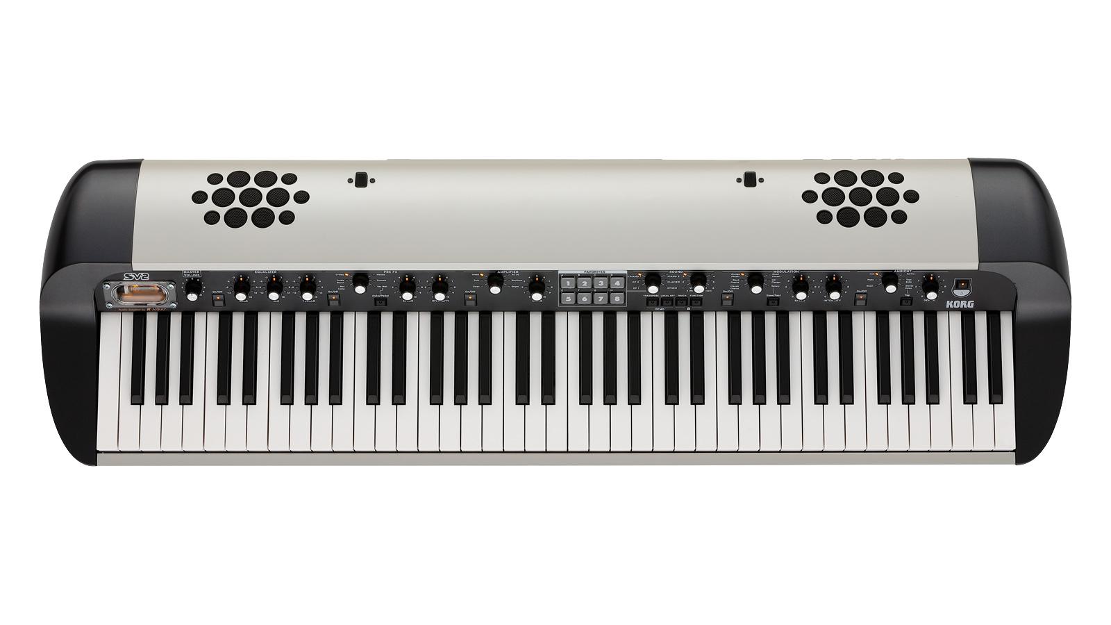 Korg SV2-73s Stagepiano weiß mit Lautsprecher