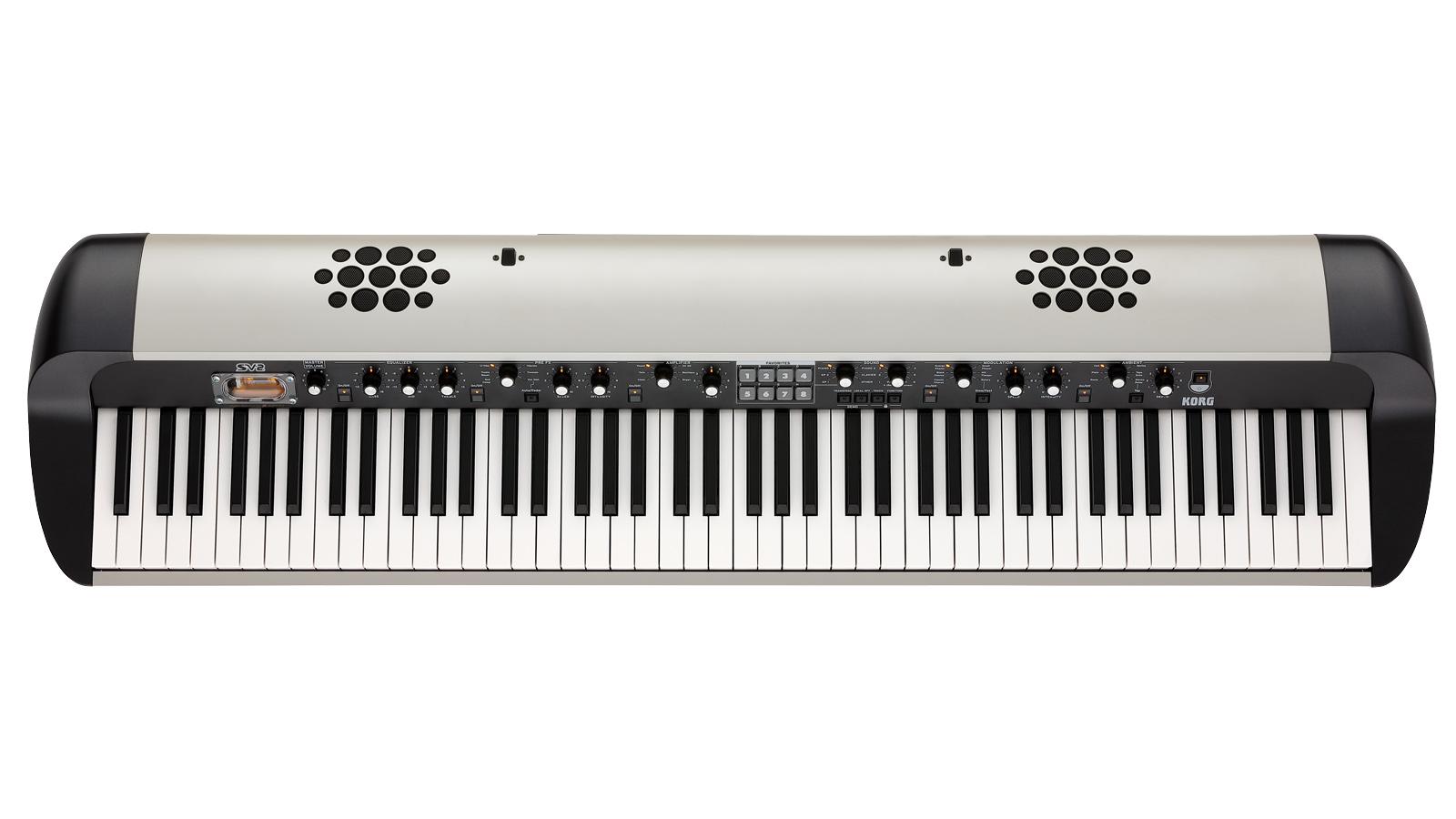 Korg SV2-88s Stagepiano weiß mit Lautsprecher