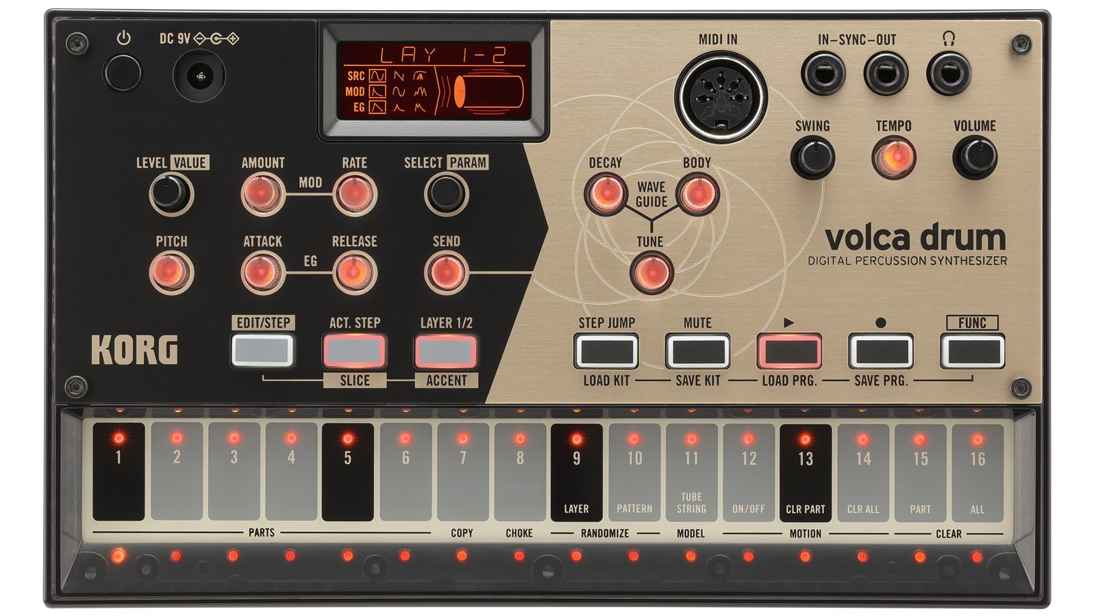 Korg volca drum Synthesizer