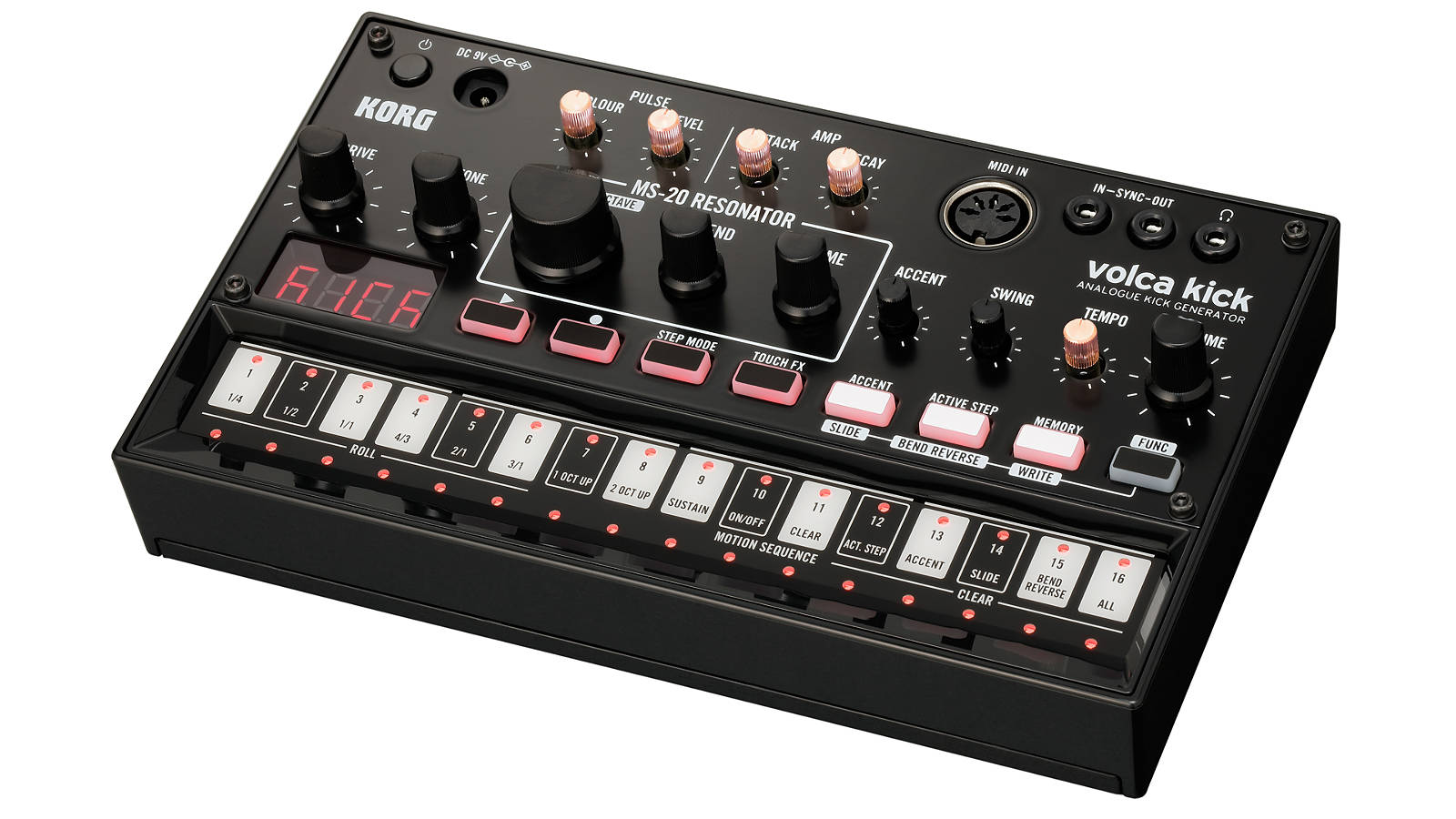 KORG volca kick analoger Synthesizer