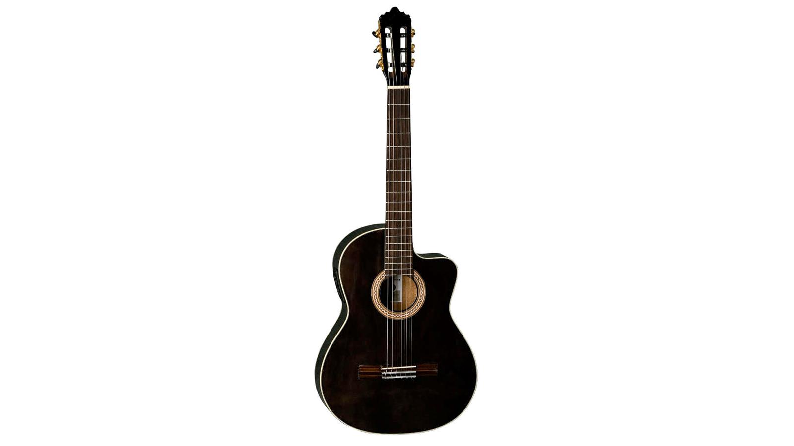 La Mancha Perla Negra CWE Konzertgitarre 4/4