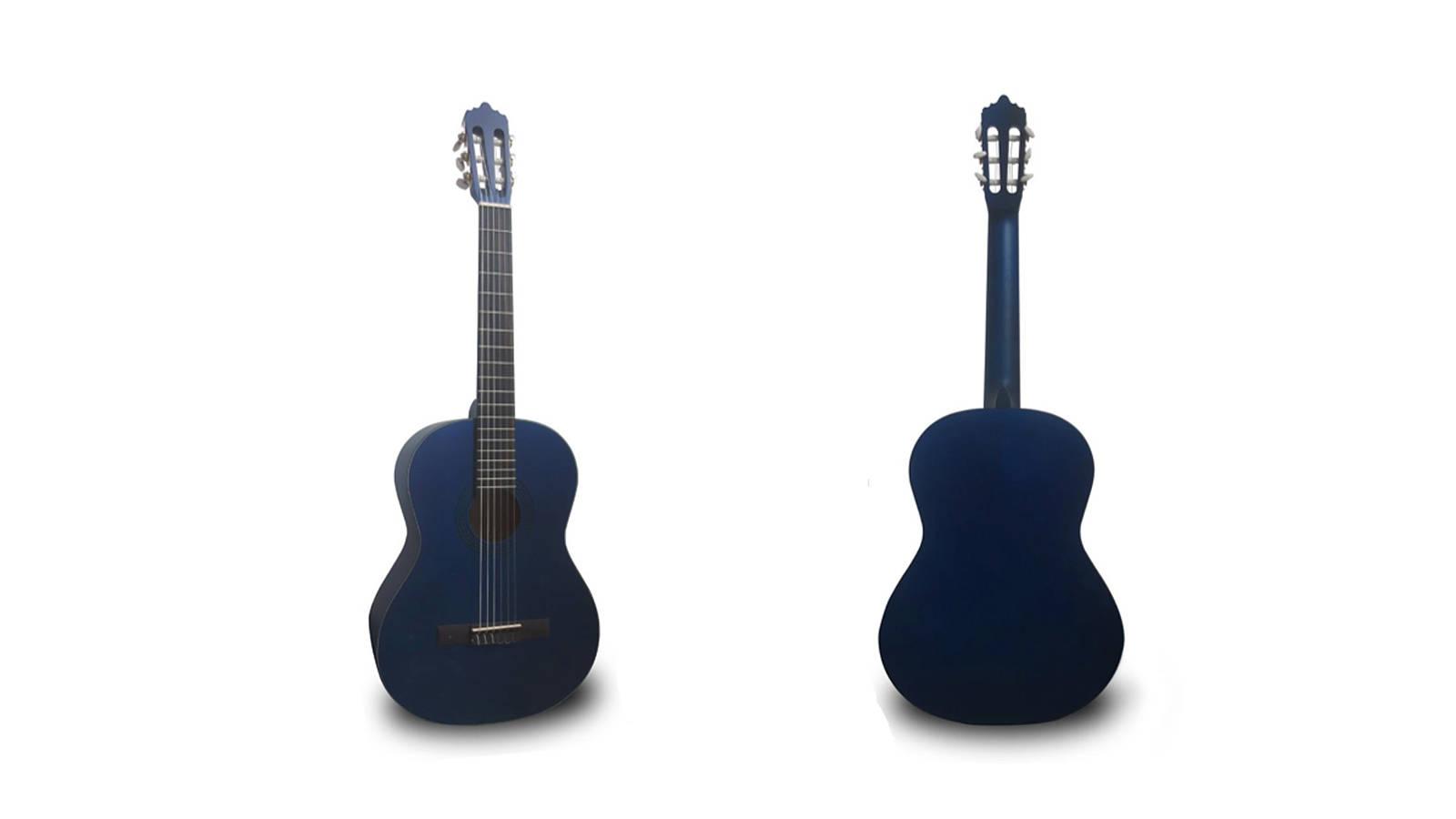 La Mancha Rubinito Azul SM 59 Konzertgitarre 3/4