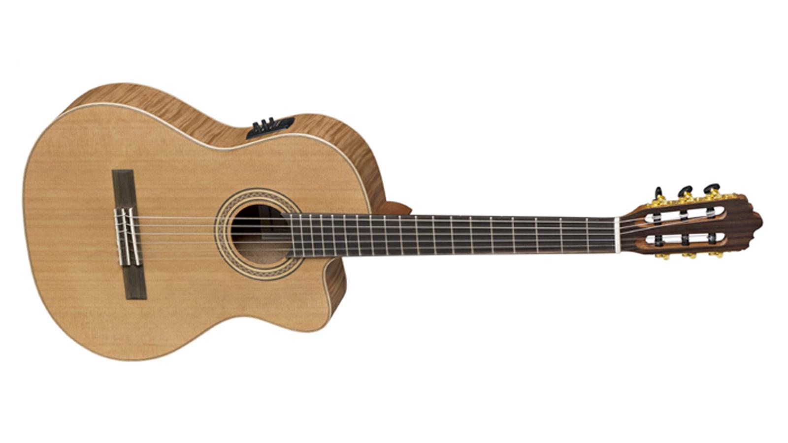 La Mancha Rubi CMX-CER Konzertgitarre