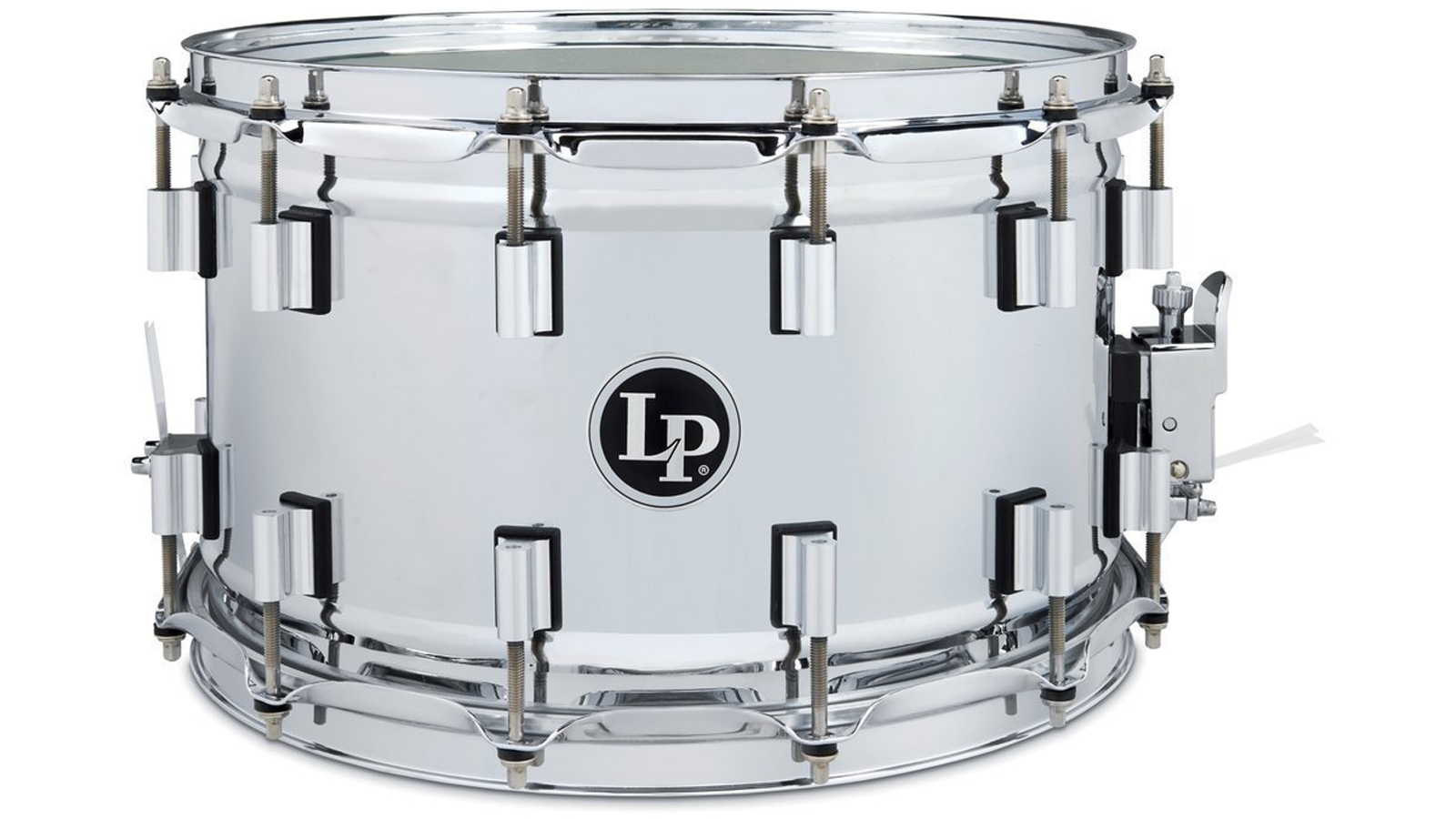"""Latin Percussion 14"""" x 8,5""""  Banda Snare Stainless Steel"""