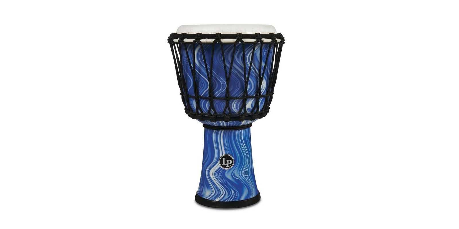 Latin Percussion Djembe World blue marble LP1607BM
