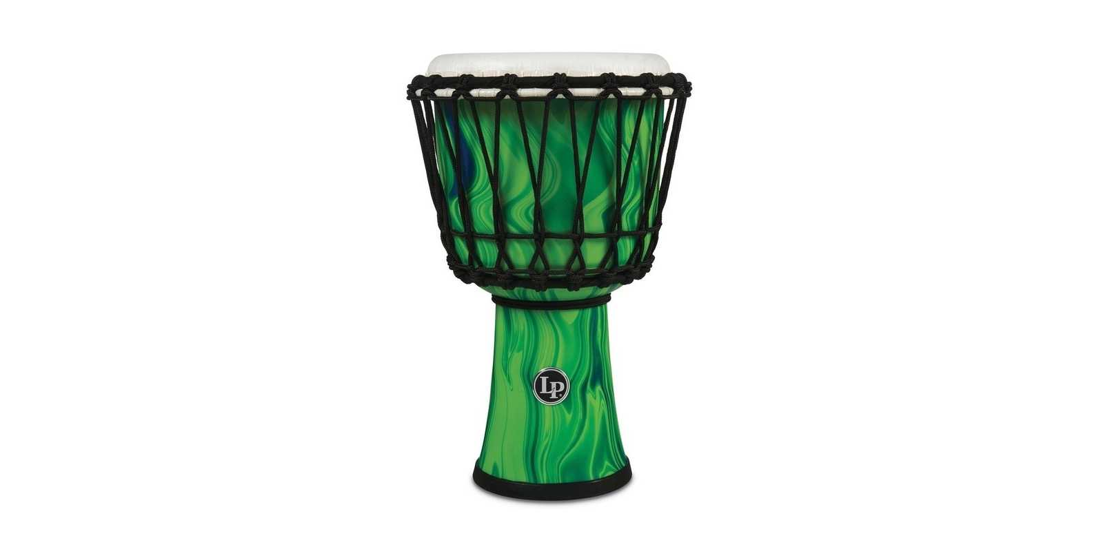 Latin Percussion Djembe World green marble LP1607GM