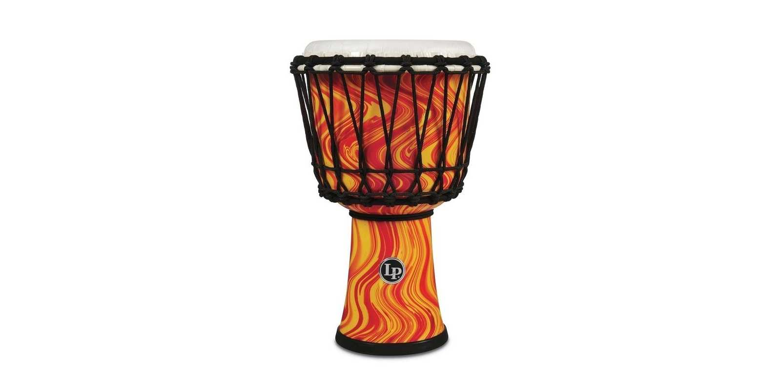 Latin Percussion Djembe World orange marble LP1607OM