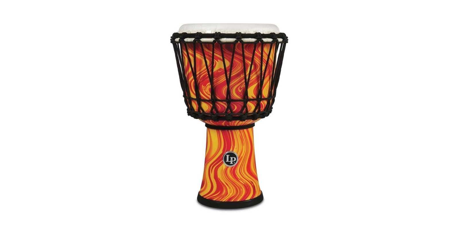 Latin Percussion Djembe World orange marble LP1607OM