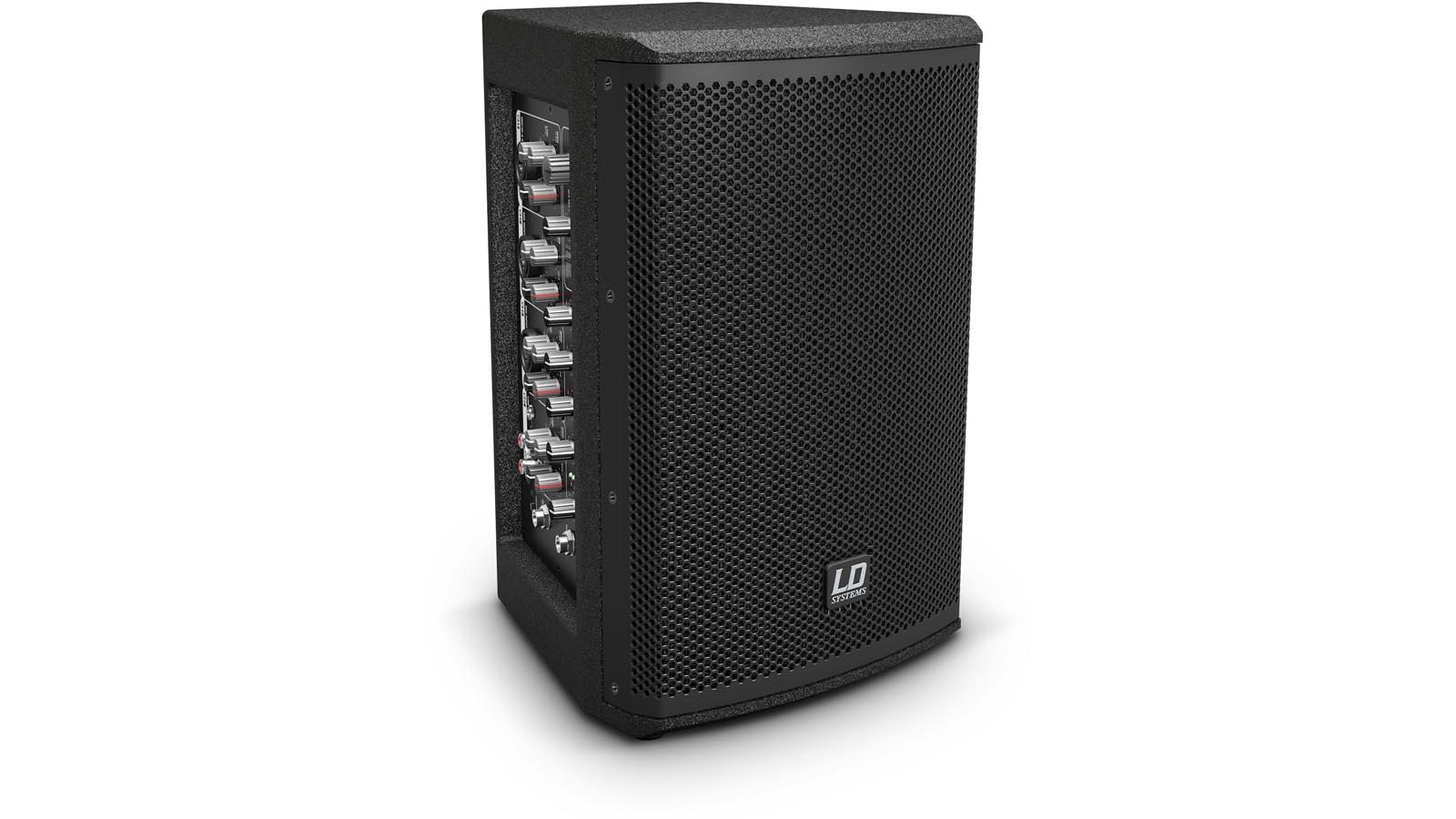 LD-Systems MIX 6 A G3 Monitor 2 Wege Aktiv-Lautsprecher 4-Kanal Mixer