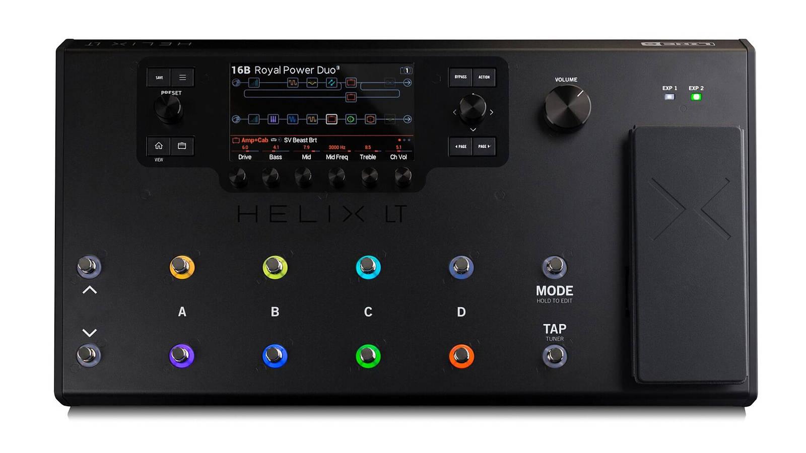 Line 6 Helix LT Bodeneffektgerät