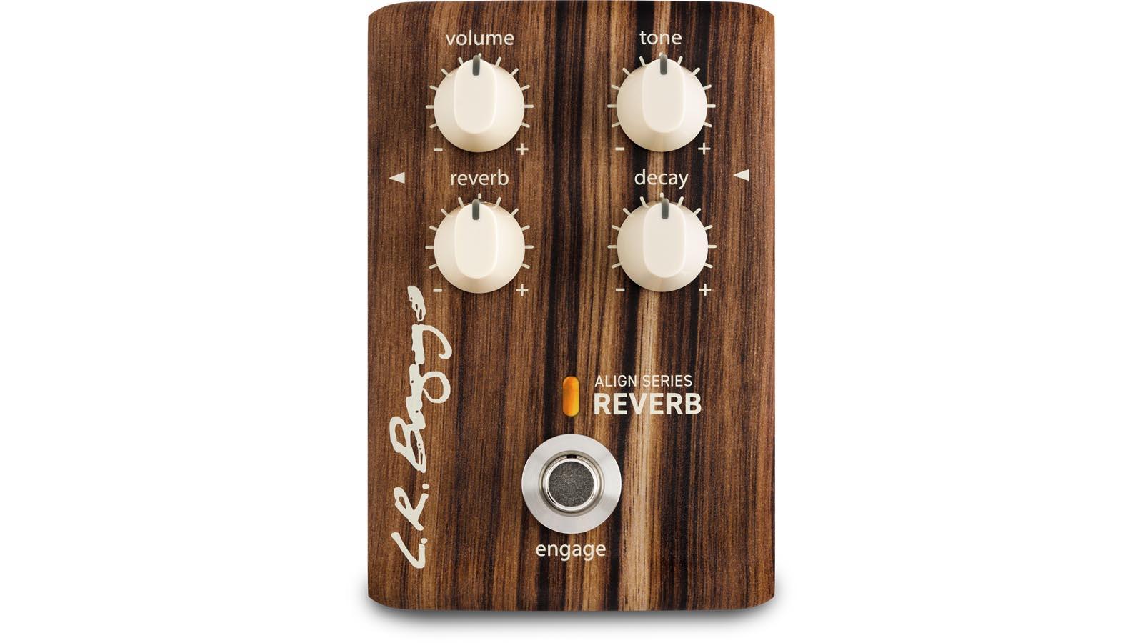 LR Baggs Align Reverb Effekt Pedal