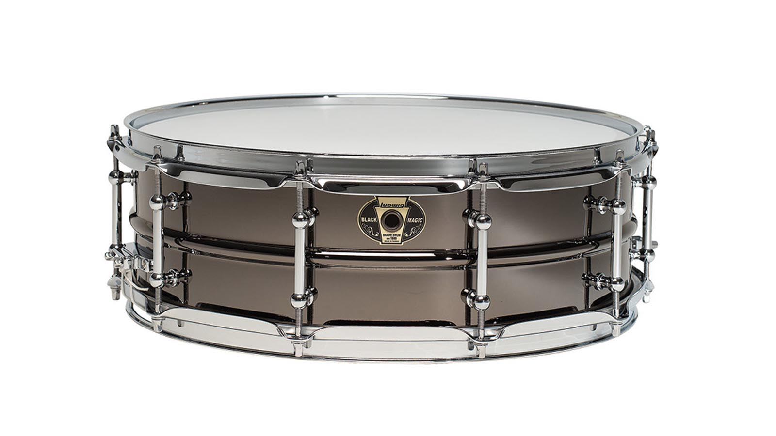 Ludwig 14x5,5 Black Magic Snare Chrom LW5514C