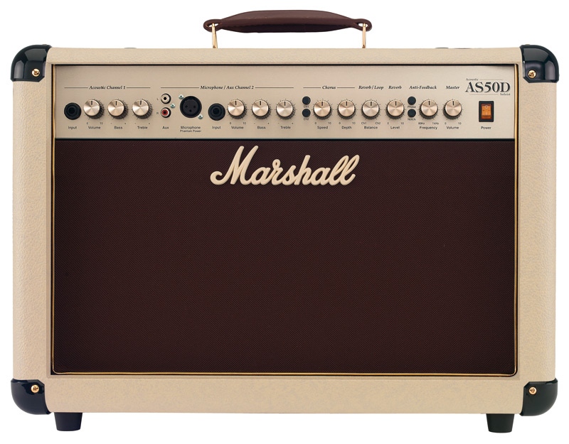 Marshall AS50DC Acoustic Combo Cream