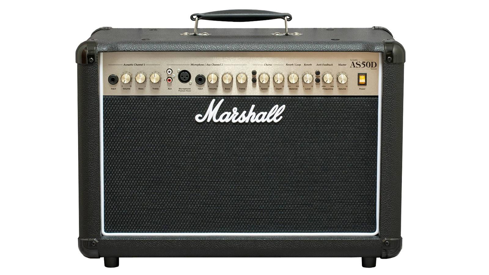 Marshall AS-50 DB Acoustic Soloist Black