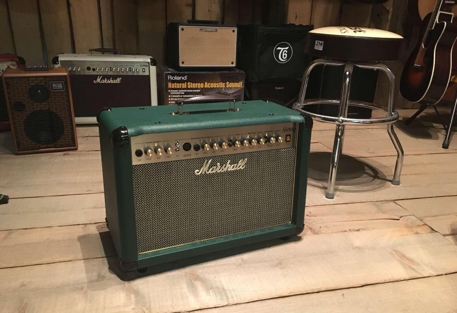 Marshall AS50DG Acoustic Soloist Limited Edition Green