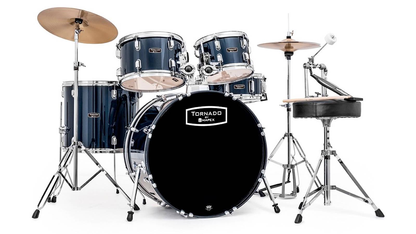 Mapex Tornado Standard Drum Set Black