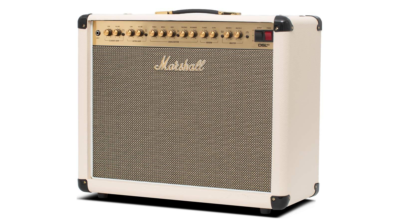 Marshall DSL40 CRD Gitarrenverstärker Cream limited