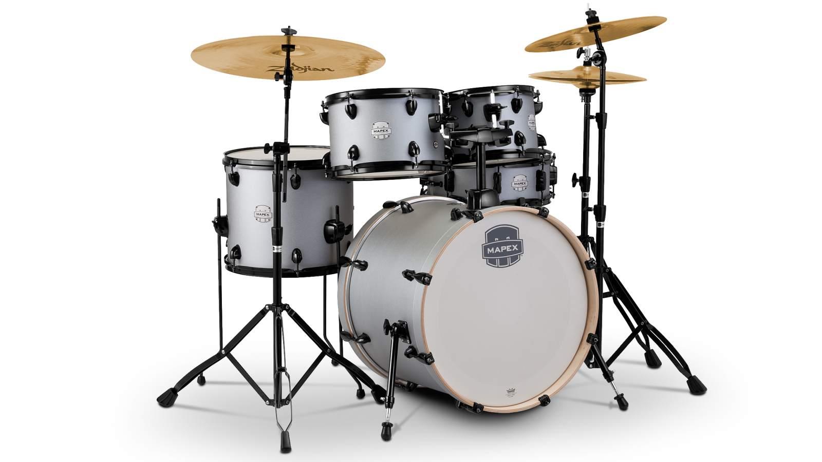 Mapex Storm Drumset 20 - Iron Grey inkl HW und Becken