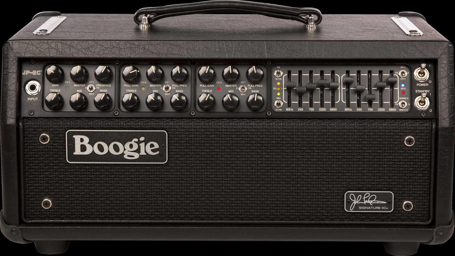 Mesa Boogie JP-2C MKIIC+ John Petrucci Sign. incl. Cover
