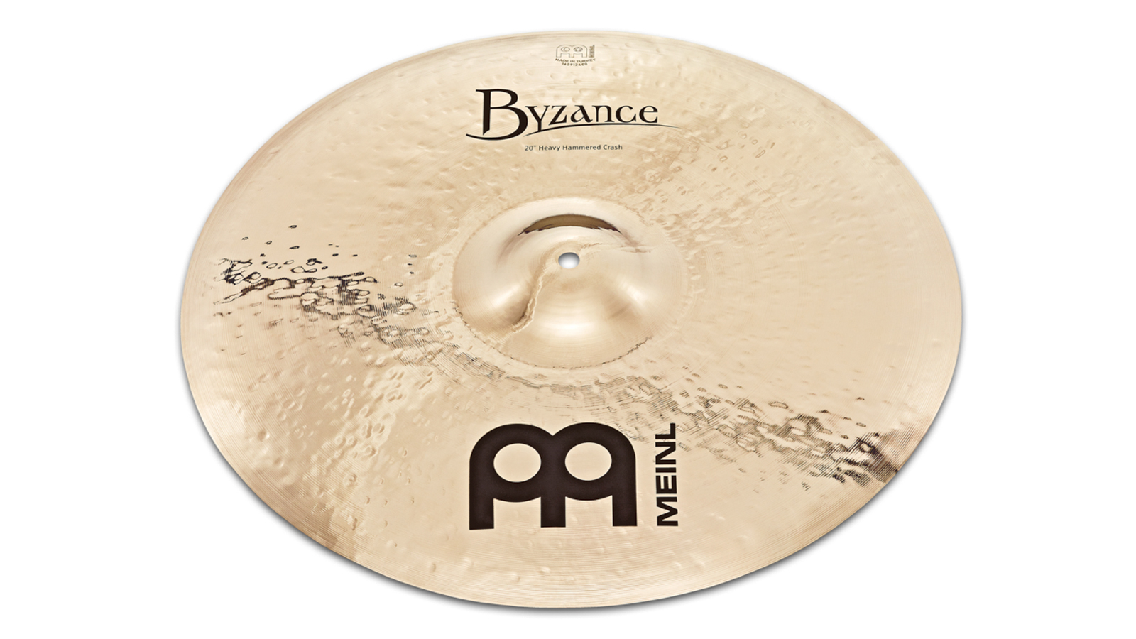 Meinl B20HHC-B Byzance Brilliant Heavy Hammered Crash 20""