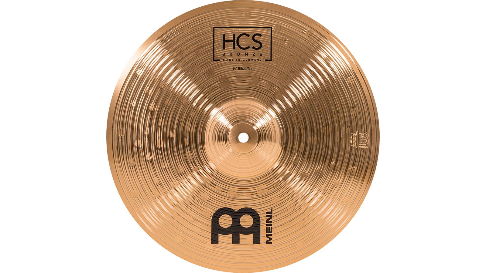 "Meinl HCSB14H 14"" HiHat Bronze HCS"
