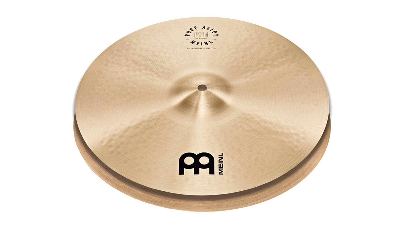 Meinl Pure Alloy Hi Hat 15""
