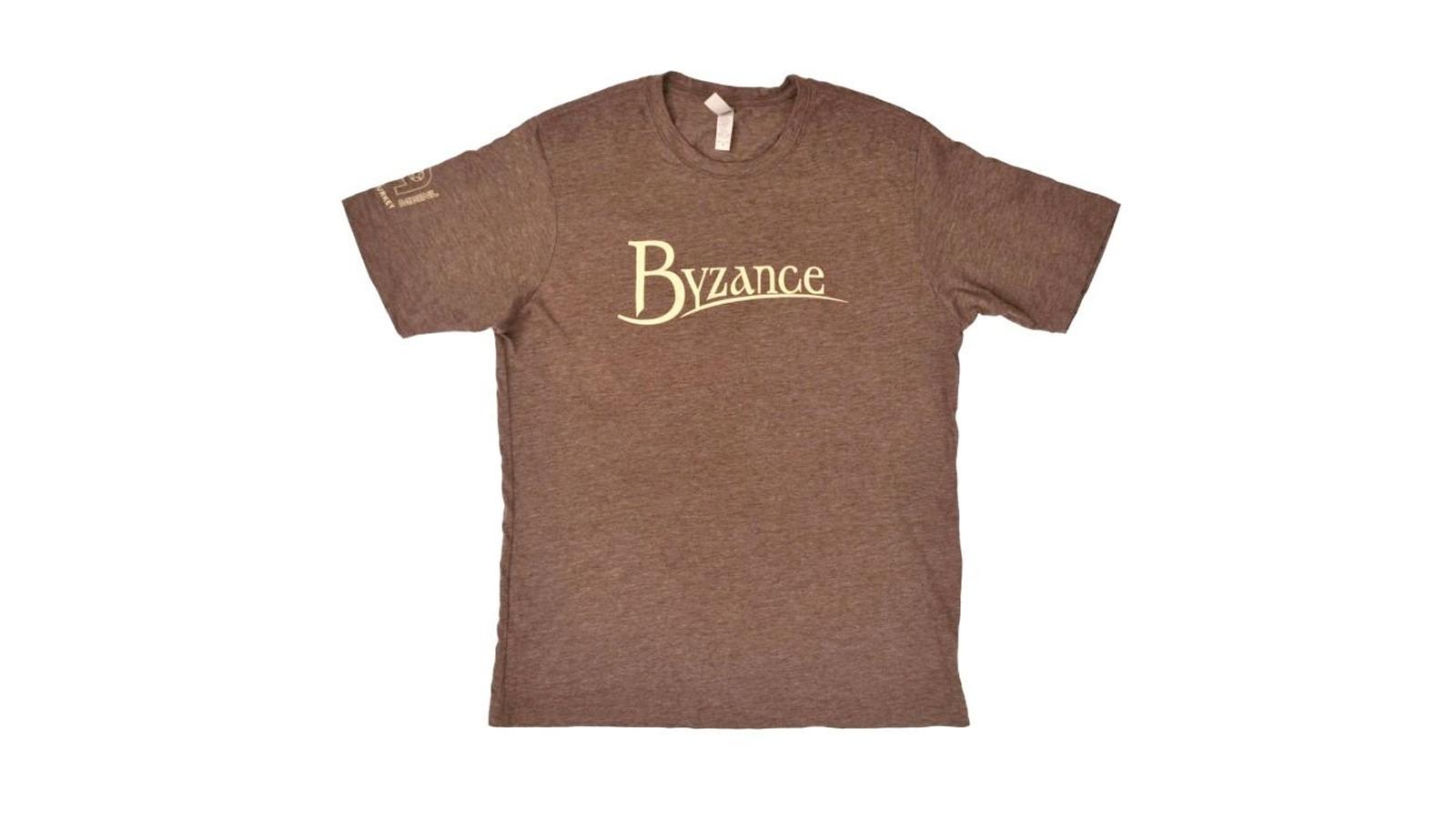Meinl S75-M T-Shirt Byzance Logo